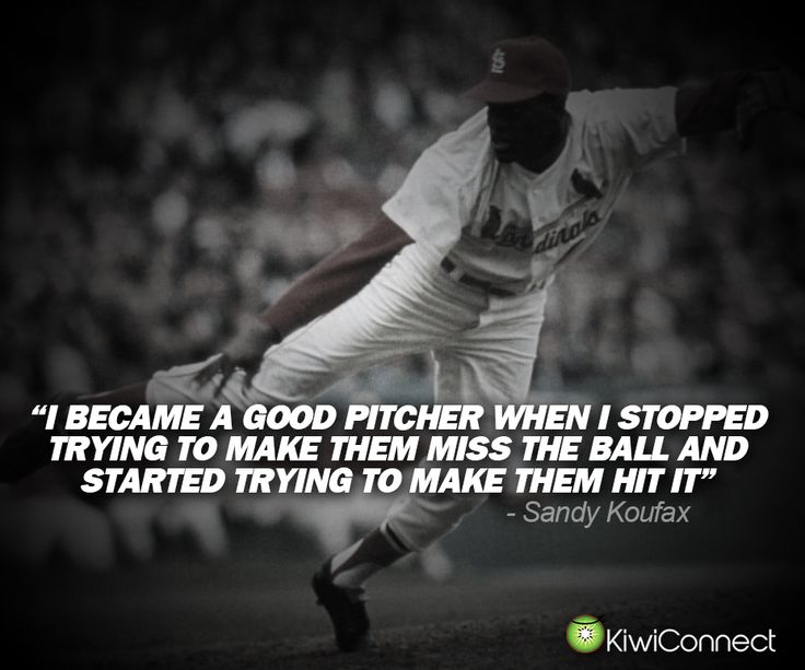 Best Baseball Quotes 113 Best Baseballsoftball Quotes To Liveimages On Pinterest .