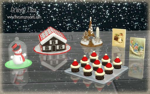 Merry Christmas! Set by Granny Zaza at The Sims Models • Sims 4 Updates