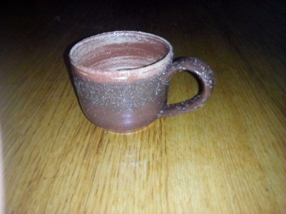 Chamotte wave mug by Muddymood on Etsy