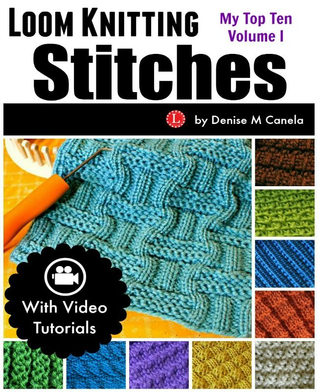 217 Best Knifty Knitter Loom Knitting Patterns Images On