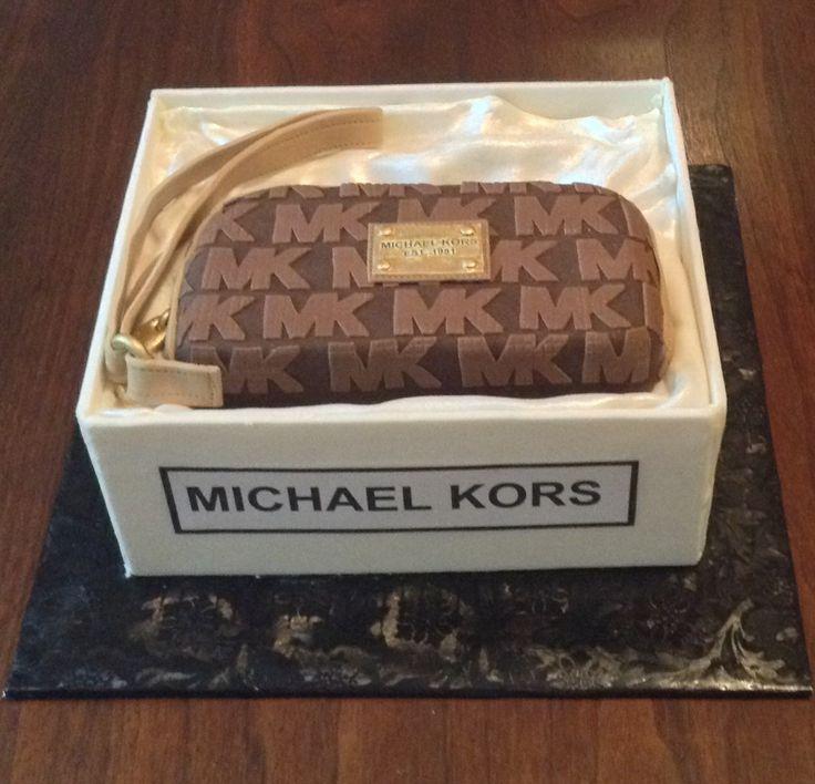 Michael Kors cake dawnbakescakes.com Cumming, Ga