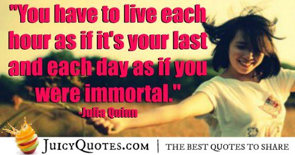 Cute Love Quote - Julia Quinn