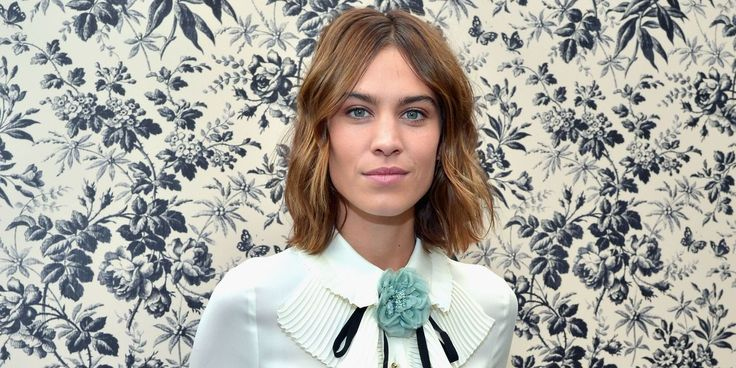 Alexa Chung Poses Topless For Patrick Demarchelier