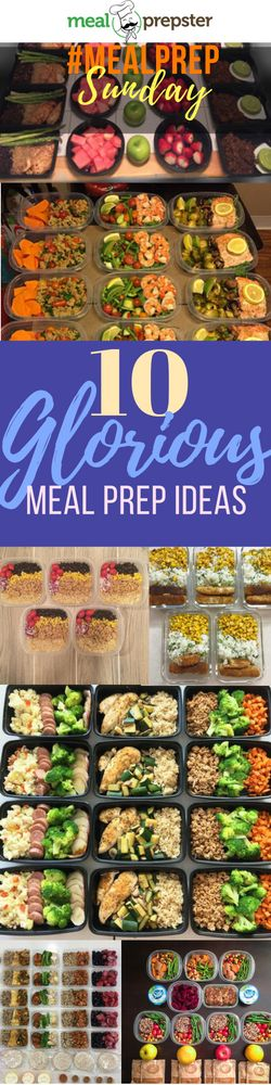 656 best Meal Prep Plan Examples images on Pinterest Meal prep - healthy meal plan