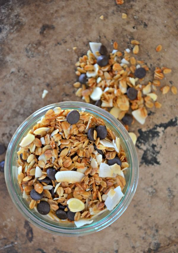 Espresso Chocolate Chip Granola