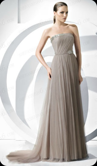 http://www.shefashion6.com  Item 2012SP0011                                        2012 Strapless Sweep Floor  Tulle Cocktail Dress.png; Real top fabric, competitive price!!!