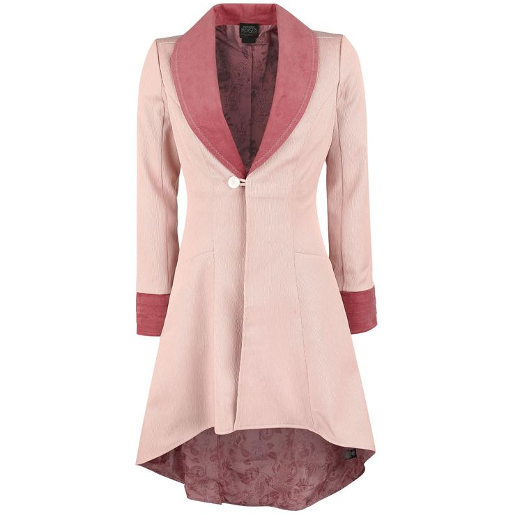"""Fantastic Beasts and Where to Find Them Korte jas, Vrouw """"Queenie"""" roze/oud roze • Groot assortiment • Large jacket coat pink"""