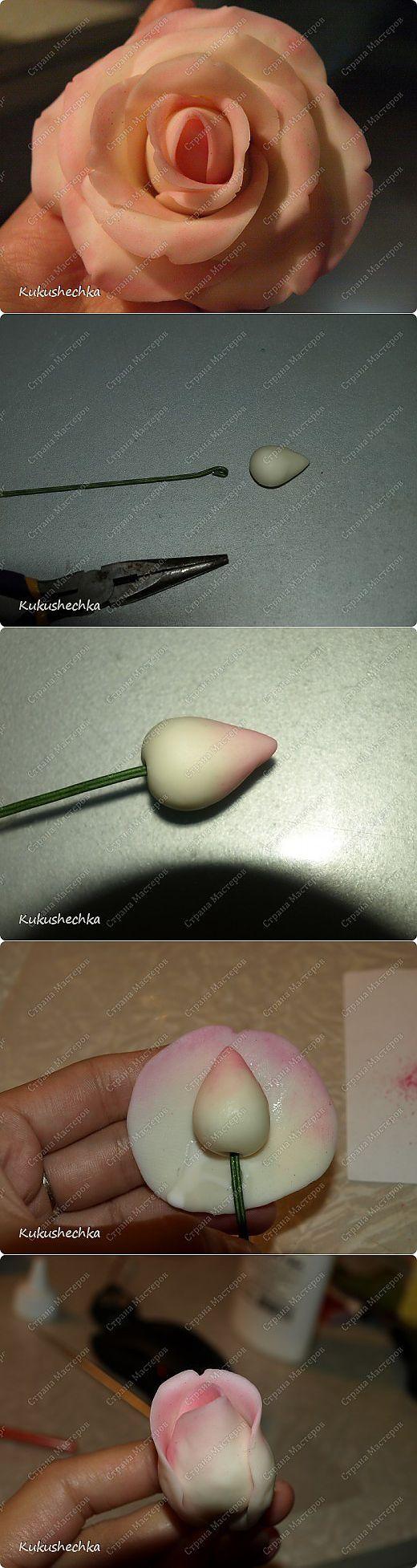 Роза. о том как леплю ее я) | Страна Мастеров