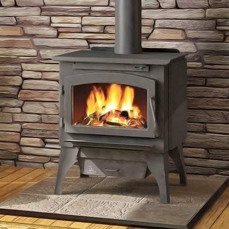 Napoleon 2100 Timberwolf EPA Wood Burning Stove with Legs.. ITEM CODE: 5NP-2100-L-K  $874.00+ Heats up to 1500 square feet of living space