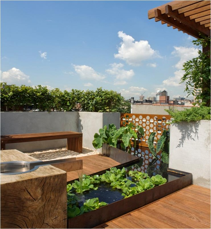 321 Best Garden Rooftop Designs Images On Pinterest | Rooftop Terrace, Rooftop  Gardens And Landscaping Part 35