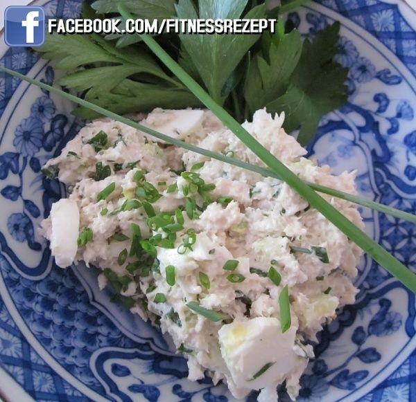 Thunfisch-Ei Protein Snack