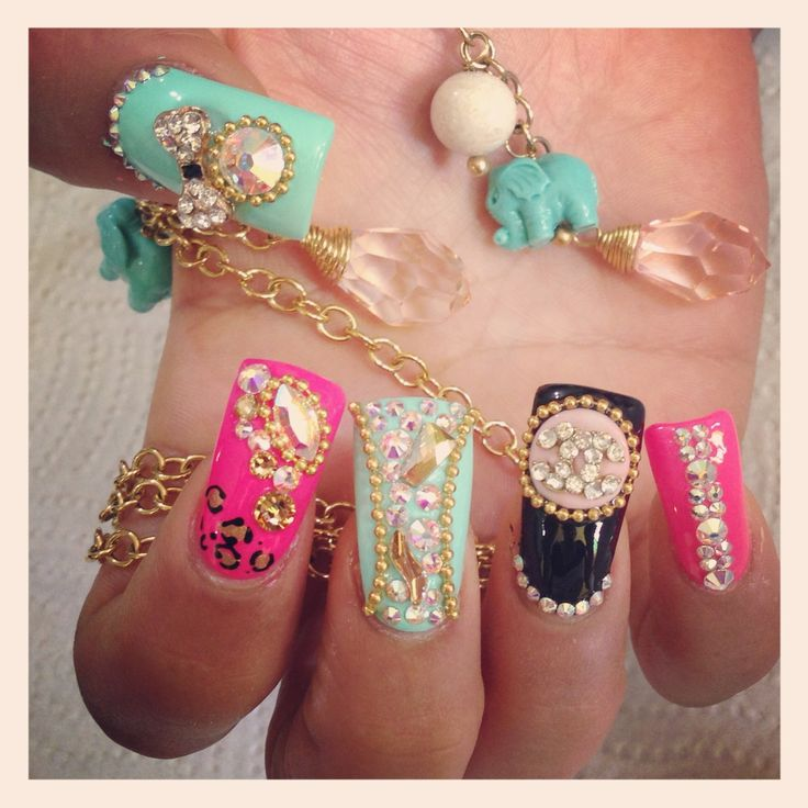 19 best Uñas images on Pinterest | Colorful nails, Au natural and Beauty
