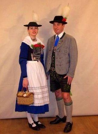 Традиционный костюм англии