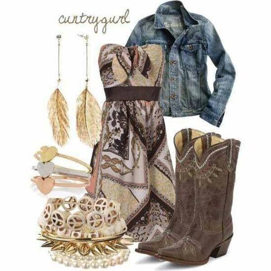 country girl fashion