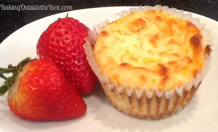 The Ricotta Muffins recipe makes up quickly, is low carb and can be sweet or savory.