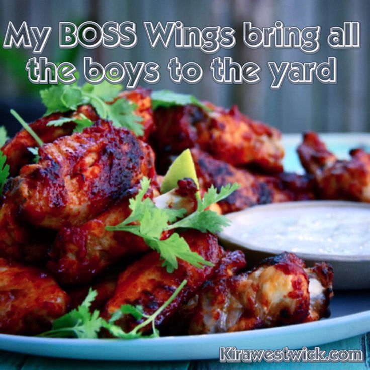 Boss Wings on my YouTube Channel! They are clean ;)