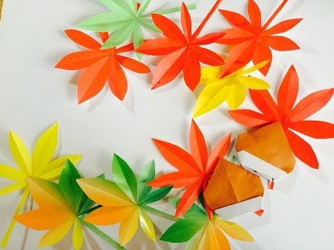 Origami Flower / Marigold Leaf Instructions / (Toshikazu Kawasaki) - YouTube
