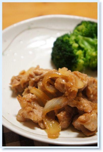豚肉と玉ねぎの甘辛炒め。 by ayu* | レシピサイト「Nadia | ナディア ...