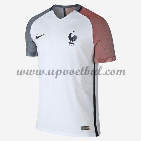 Goedkope Voetbalshirts Frankrijk Elftal Tenue 2016 Korte Mouw Uitshirt
