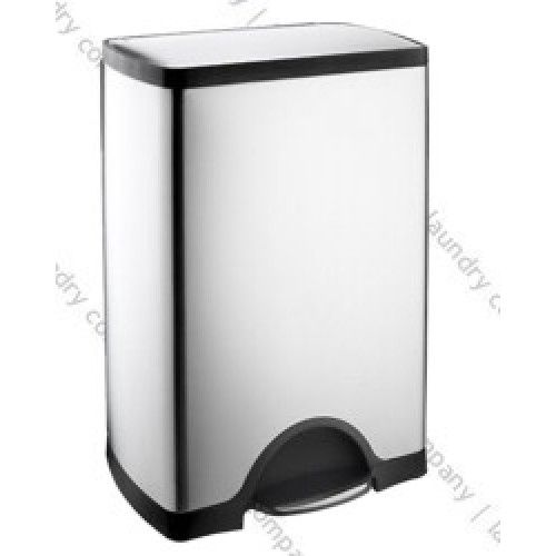 Simplehuman 50 Litre Brushed Stainless Steel Rectangular Kitchen Bin