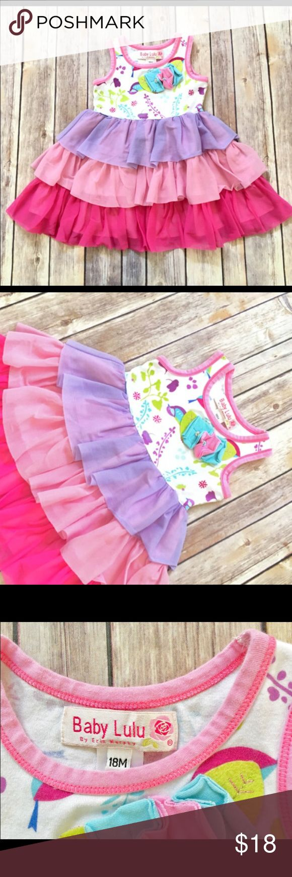 Baby Lulu 18m Dress Such a sweet dress! Excellent condition, purchased through online boutique Dresses Casual