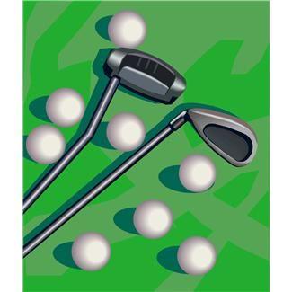 golf, golf balls, golf clubs, golfing, leisure, sporting equipment, sports