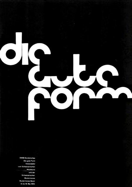 Armin Hofmann Die Gute Form