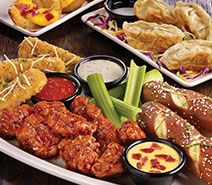 TGI Fridays offers an assortment of mouth-watering entrées along with savory appetizers and hearty salads. Located in Honey Creek Mall 10 min south of campus.
