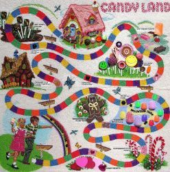 Candy Land Board Game ~I remember loving to play Candy Land! I love the look of the old Candy Land Game. I prefer it over the new look.