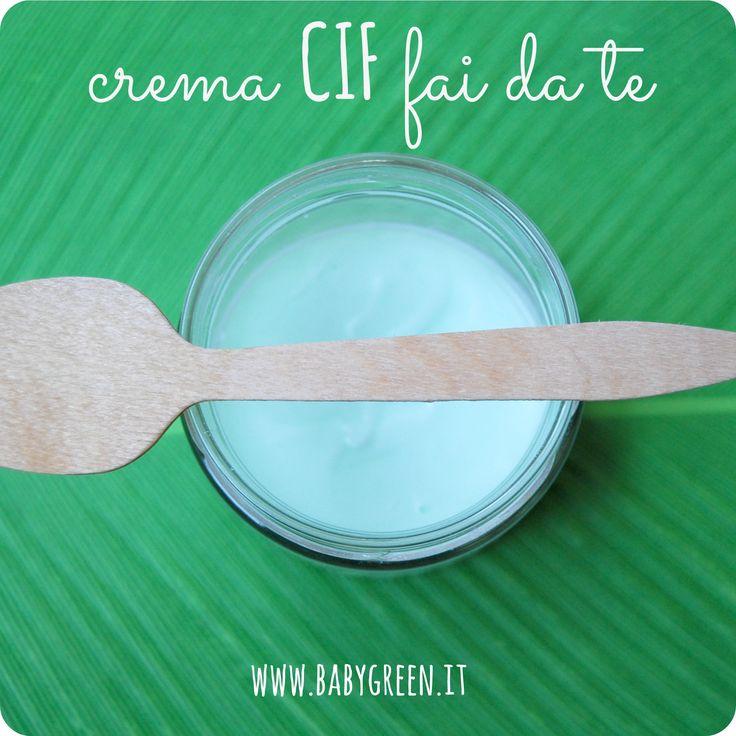 Share Tweet + 1 Mail Oggi una ricetta di pulizia molto semplice ed ecologica, ma soprattutto efficace: la crema tipo CIF fatta in casa ...