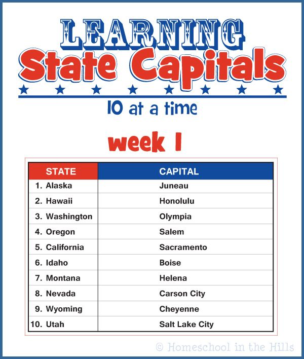 Best State Capitals  Regions Images On Pinterest Teaching - Free printable us map with states and capitals