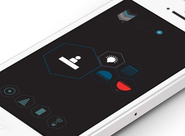 Domantic App UI / Emilie Deneuvelaere