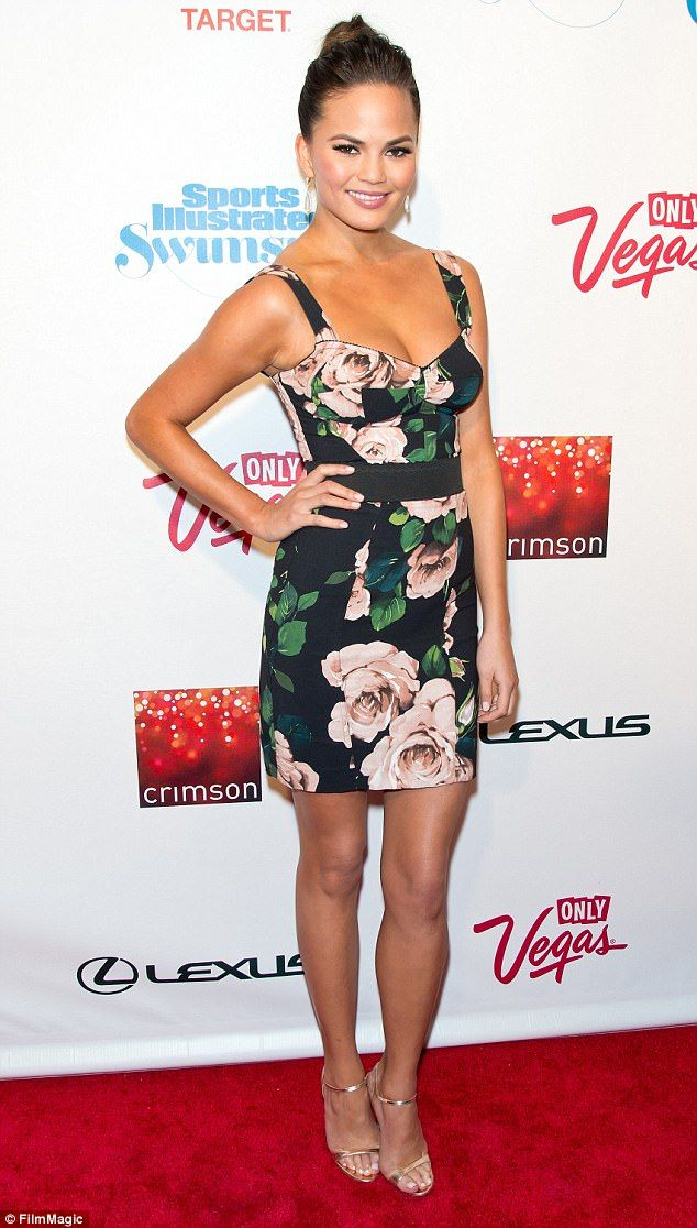 Teigen, pictured wearing a Dolce and Gabbana dress at the Sports Illustrated Swimsuit Launch Party in 2013 in New York City, said she has boycotted the brand since 2015
