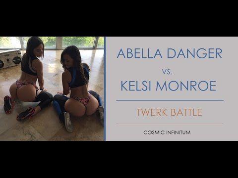 Abella Danger vs. Kelsi Monroe Twerk Battle!! 01.16.17