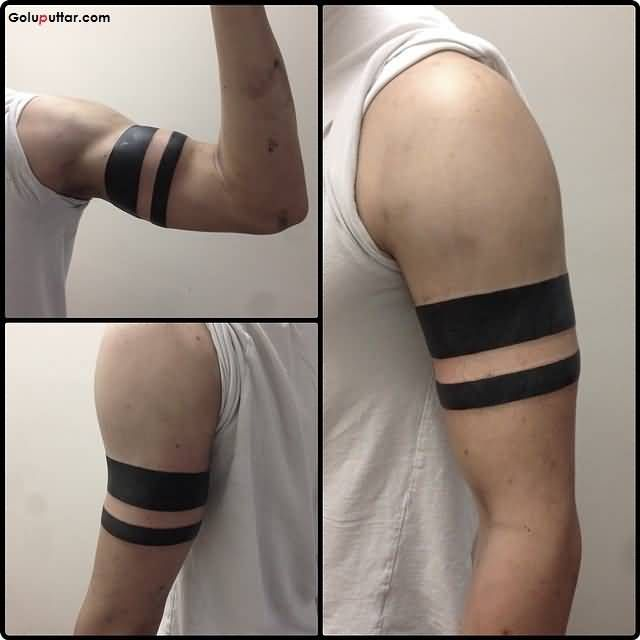 17 best ideas about black band tattoo on pinterest band for Tattoo around bicep