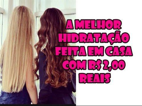 🌸HIDRATAÇAO CASEIRA com efeito de SALÃO CHIQUE cabelos lisos e hidratado...