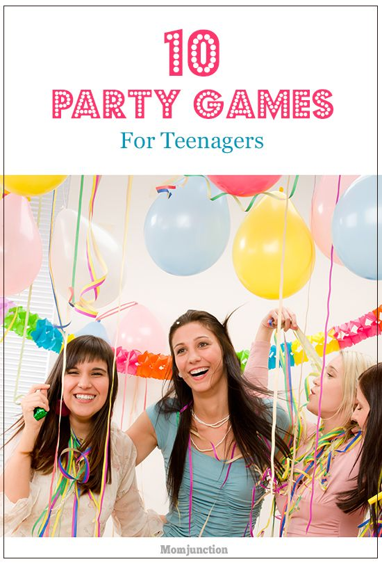 21 Inexpensive And Fun Party Games For Teenagers | Christmas ...