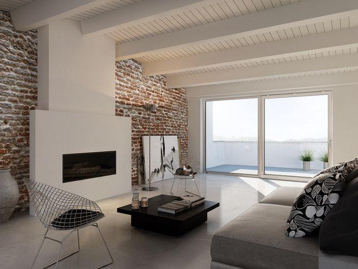 Plongez votre intérieur dans la lumière naturelle, faites le choix de la baie vitrée. http://www.oknoplast.fr/ #Oknoplast #fenêtre #rénovation #isolation #maison #salon #aménagement