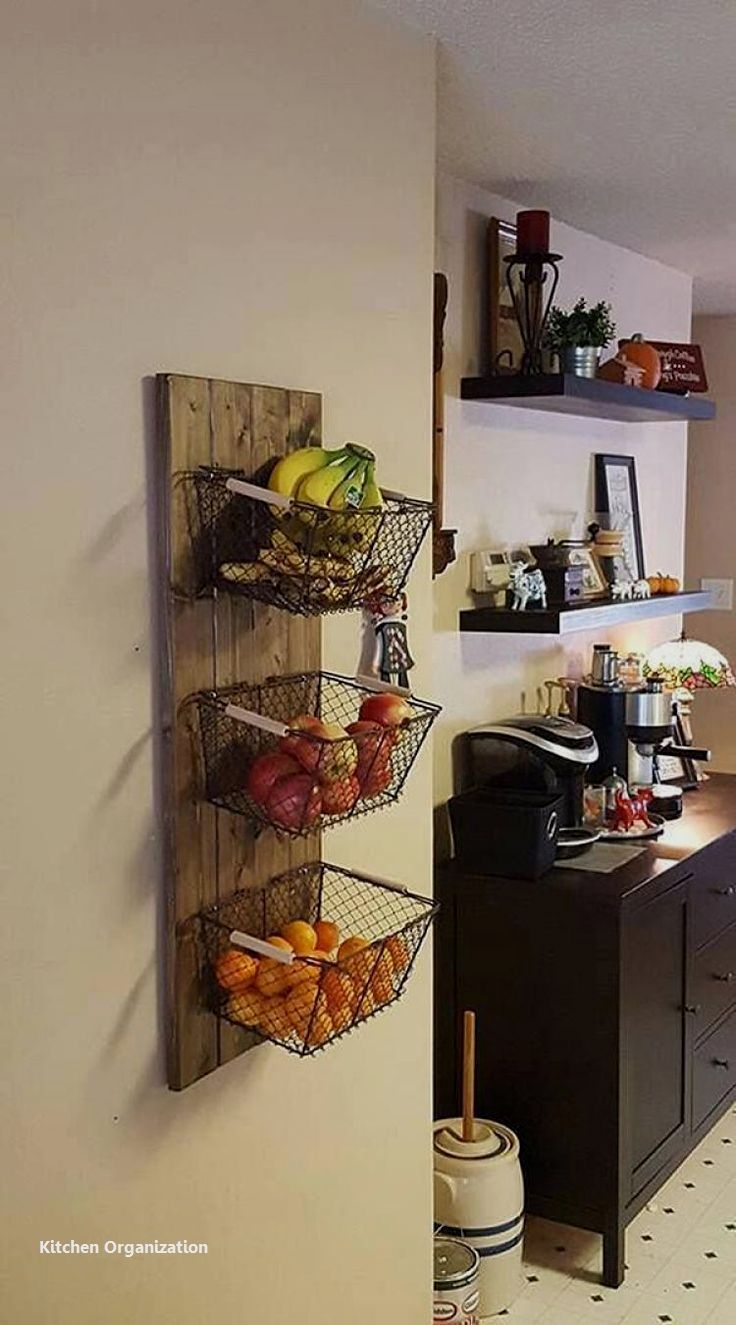 15 Creative DIY Storage and Organization Ideas for Small Kitchens 5 – #apartment…