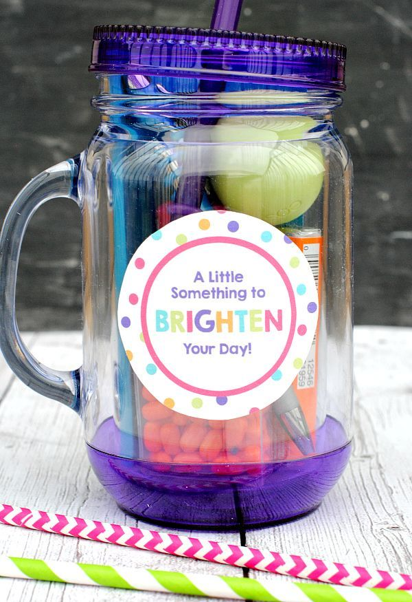Gift Idea for Friends-A Little Something to Brighten Your Day!
