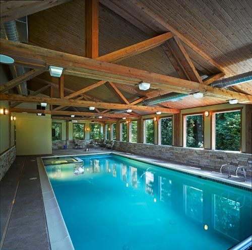Inside barndominium pool now you 39 re talking d for Pool plans for sale