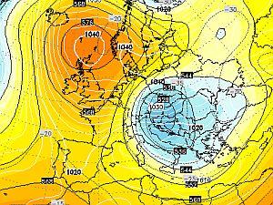 13 dicembre 2001: il blizzard che ghiacciò l'Europa - MeteoGiornale.it