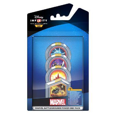 Disney Infinity 3.0 Marvel Power Disc Pack  Geef jouw personages onder andere meer vaardigheden krachten en kostuums met dit Disney Infinity 3.0 Marvel Power Disc Pack!  EUR 2.99  Meer informatie