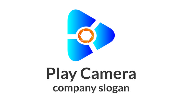 Play Camera Logo - Logos & Graphics