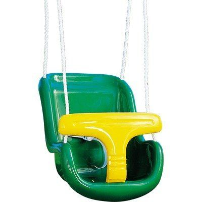 Molded Infant Swing by Playtime Swing Sets. $30.30. Available in rope only. Swing set accessory makes great addition to swing sets. Durable plastic construction. Rope sides. Secure and safe front design keeps infants safe. AA929-442   -Durable plastic construction. -Secure and safe front design keeps infants safe. -Rope sides. -Swing set accessory makes great addition to swing sets.. Save 43% Off!