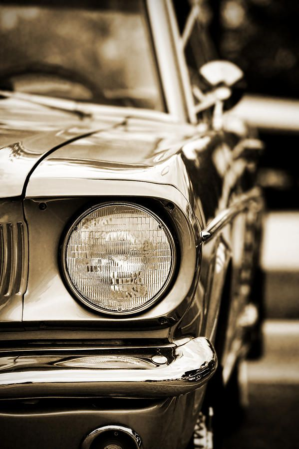 1966 Ford Mustang Photograph by Gordon Dean II