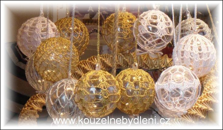 háčkované koule