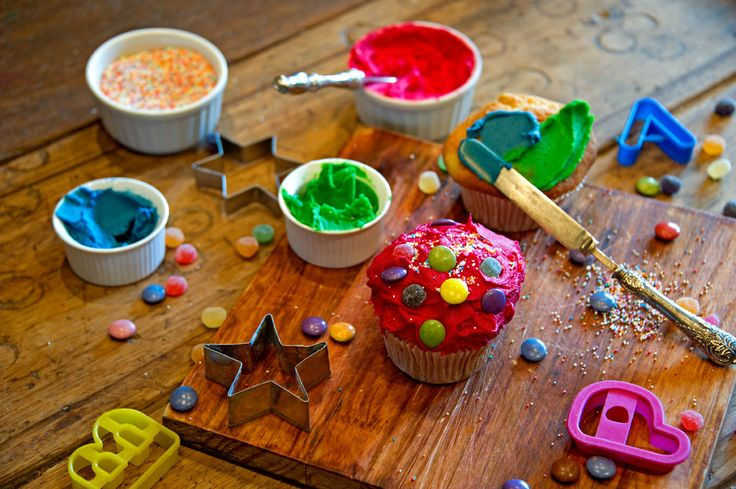 In case you didn't know, we love #cupcakes. The more colourful, the better! #CafeParadiso