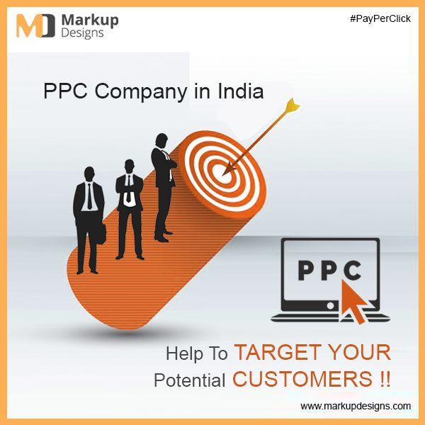 Target Your Potential Customers With Our #PPC Campaign. Markupdesigns offers #PayPerClick Advertising #PPC Management services in #India.  #GoogleAdwords #Advertising #DigitalMarketing #MarkupDesigns