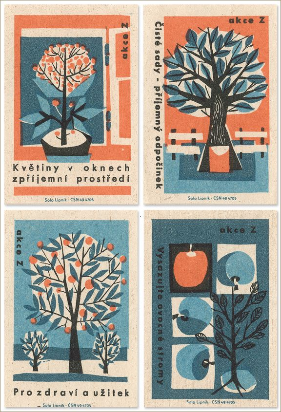 Today I Love: Jane McDevitt's Vintage Matchbox Labels | Creature Comforts